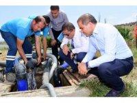 Alaşehir'in içme suyuna yakın takip