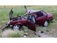 Yozgat'ta trafik kazası: 1 ölü, 3 yaralı