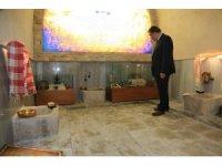 Tahtalı Hamam'a ziyaretçi akını