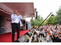Cumhurbaşkanı Adayı Muharrem İnce Tunceli'de