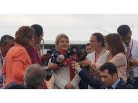 """Eski Başbakan Tansu Çiller: """"Bugün milli bir şuurla buradayım"""""""