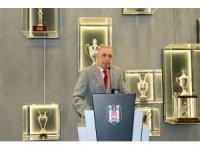 Beşiktaş'ta bayramlaşma yapıldı