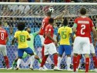 2018 FIFA Dünya Kupası: Brezilya: 1 - İsviçre: 1