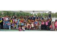Kayseri Şeker'de bayram coşkusu çocuklarla birlikte yaşandı