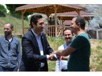 MHP Sivas Milletvekili adayı Uygunuçarlar'a Hafik'te büyük destek