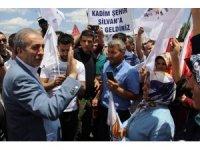 """AK Parti Genel Başkan Yardımcısı Eker: """"Biz diyoruz Türkiye'yi ileriye götürelim onlar diyorlar hayır geriye götürelim"""""""
