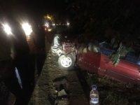 Bayram ziyareti dönüşünde kaza: 3 yaralı