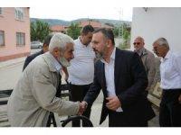 Başkan Ercan'dan bayram ziyaretleri