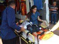 Şanlıurfa'da otomobil devrildi: 1'i çocuk 2 yaralı