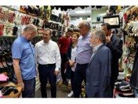 Başkan Ataç, Sivrihisar'da esnaf ziyareti gerçekleştirdi