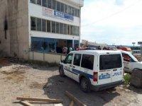 Ostim'de kamyonun yakıt deposundaki tamirat sırasında patlama: 1 yaralı