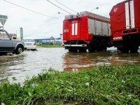 Rusya'da 180 evi su bastı