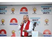 Başbakan Binali Yıldırım İzmir'de seçim maratonuna başladı