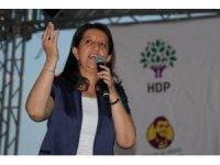 """HDP Eş Genel Başkanı Buldan: """"24 Haziran'dan sonra işinizin, aşınızın, ekmeğinizin sahibi olacaksınız"""""""