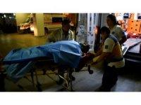 100 metrelik uçurumdan yuvarlanan kadının ayağı kırıldı