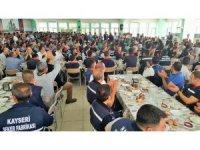 Başkan Akay, çalışanlarla 'Ordunun Duası' ile bayramlaştı