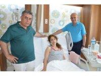 Almanya'da 'İki hafta sonra gel' denilen kadın hasta İzmir'de şifa buldu