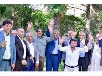 Advan Aşireti'nden Başkan Atilla'ya ziyaret