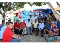 Milletvekili Uslu, seçim çalışmalarına devam ediyor