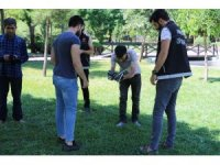 Diyarbakır'da 500 polisle parklarda huzur uygulaması