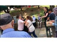 CHP standında şehit annesine saldırı iddialarına açıklama