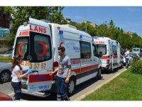 2 minibüs çarpıştı, 4 yolcu yaralandı