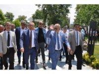 MHP'li belediye başkanları Sarıgöl'de