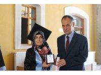 Başkan Türkmen KTÜ Güzel Sanatlar Fakültesi'nde mezuniyet törenine katıldı