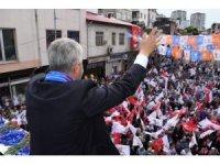AK Parti  Trabzon Milletvekili adayları seçim çalışmalarını aralıksız sürdürüyor