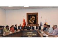 MHP Milletvekili adaylarından ITSO'ya seçim ziyareti