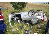 Gediz'de trafik kazası: 3 yaralı