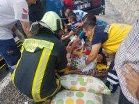 Denizli'de trafik kazası: 11 yaralı