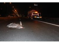 Kendi yaptığı kazadan kurtuldu ama başka araç ezdi