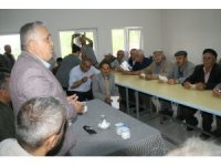 AK Partililer köylerden destek istediler