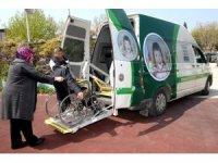 Osmangazi'den engelsiz oy kullanma hizmeti