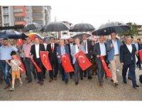 Karabük'te 'AK Yürüyüşler' başladı