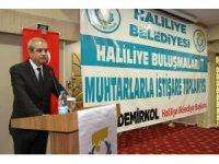 Demirkol, 24 Haziran seçimleri için muhtarlardan destek istedi