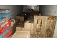 Karpuz ve portakal yüklü kamyonda 400 kilo esrar ele geçirildi