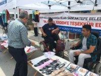 Sancaktepe'de engelli vatandaşlara pazar tezgahı