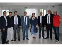 Muğlaspor'a destek ziyaretleri sürüyor