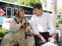 Başkan Türel, esnafın sorununu dinledi