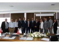 İŞKUR Genel Müdürü Uzunkaya'dan TÜİOSB'a ziyaret