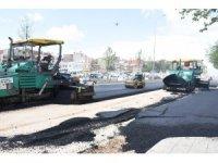 Şahinbey Belediyesi'nde asfalt çalışmaları sürüyor
