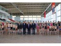 Edirne'de bin seyirci kapasiteli olimpik yüzme havuzu hizmete başladı
