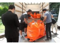 Oy çuvalları Türkiye yolunda