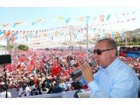 """Cumhurbaşkanı Erdoğan: """"Kandil'i de vurduk ve toplantı halindeki lider takımını hallettik"""""""