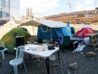 Fikirtepe'de çadırda kalan kentsel dönüşüm mağdurları bakanlığı harekete geçirdi