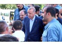 Cumhurbaşkanı Erdoğan'dan Milletvekili Yıldız ve şehit ailesine taziye ziyareti