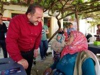 Milletvekili Murat Demir, Doğanyurt ve Cide'de seçim çalışmalarını sürdürdü