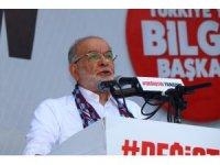 """SP Genel Başkanı Karamollaoğlu: """"İktidarda bulunan arkadaşlarımız bizim hasmımız değil, sadece rakibimiz"""""""